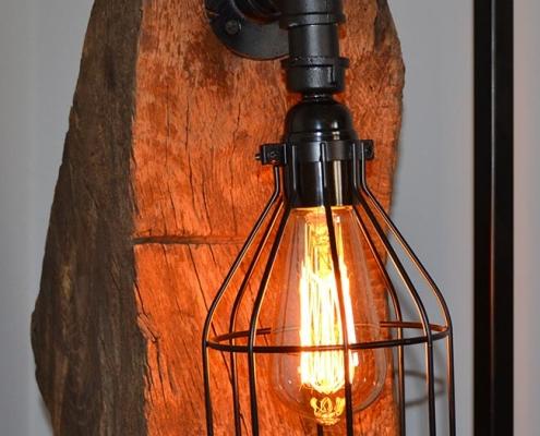 Fachwerklampe | batke dekor | holz & metall | Lemgo