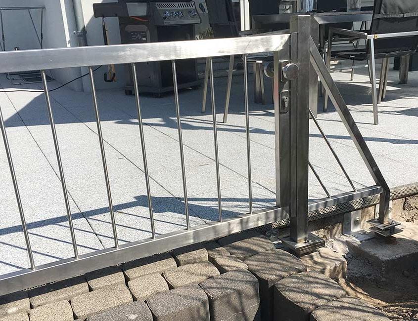 Reparatur Gartentor | batke dekor | holz & metall | Lemgo