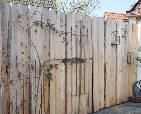 Sichtschutzwand Baumkante | batke dekor | holz & metall | Lemgo