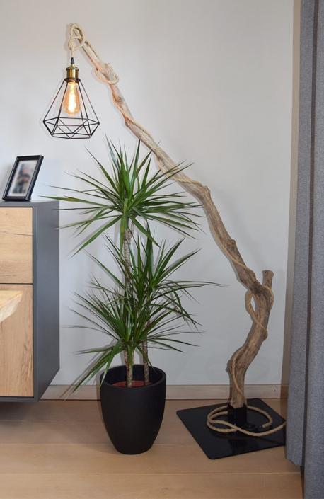 Treibholzlampe | batke dekor | holz & metall | Lemgo