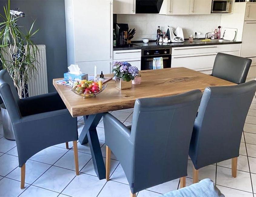 Tisch | batke dekor | holz & metall | Lemgo