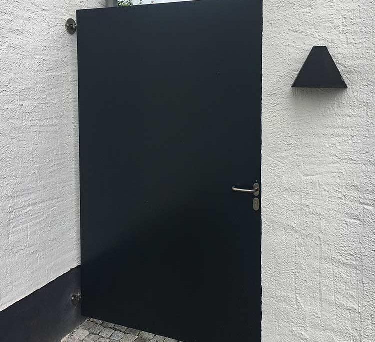Gartentor | batke dekor | holz & metall | Lemgo