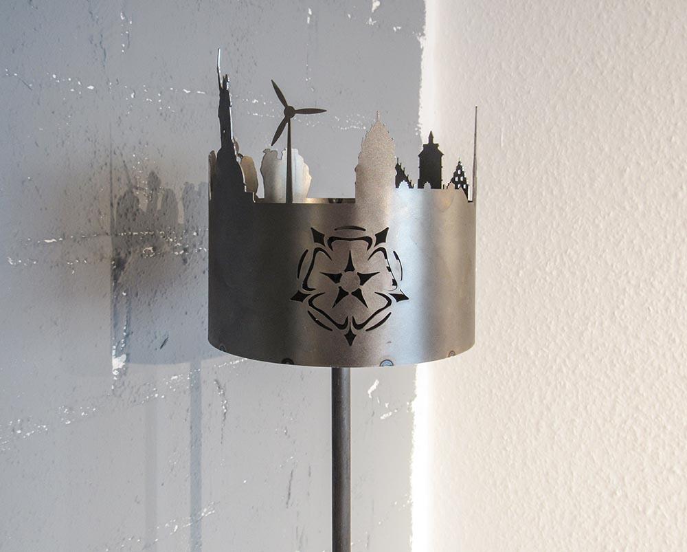 Gartenfackel Lippe   batke dekor   holz & metall   Lemgo
