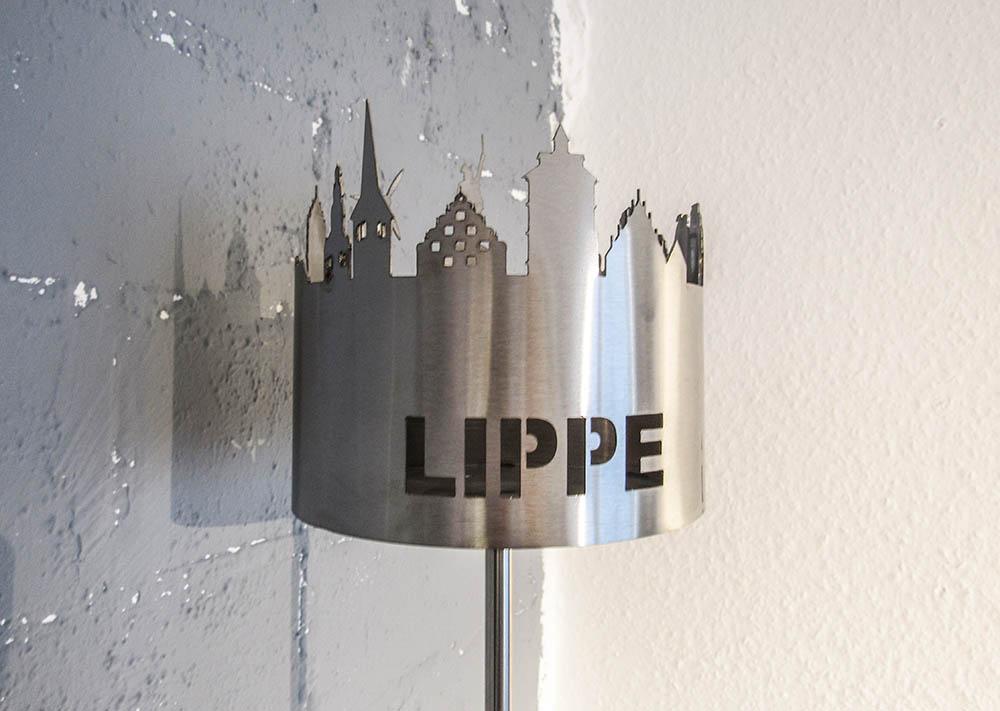 Gartenfackel Lippe | batke dekor | holz & metall | Lemgo