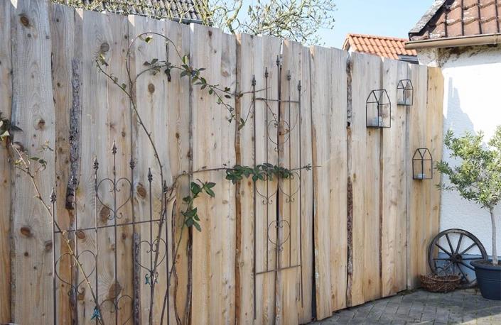 Sichtschutzwand | batke dekor | holz & metall | Lemgo